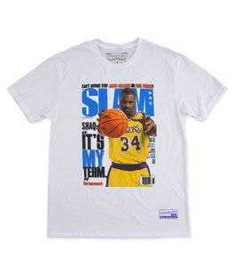 MITCHELL AND NESS SLAM COVER TEE- SHAQUILLE O'NEAL