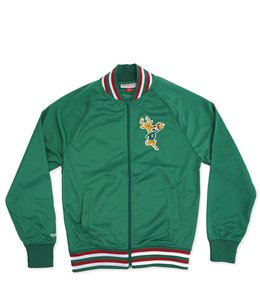 MITCHELL AND NESS BUCKS TOP PROSPECT TRACK JACKET