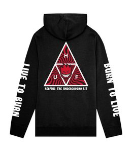 HUF x SPITFIRE TRIANGLE PULLOVER HOODIE