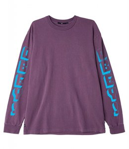 OBEY NEW WORLD 3 PIGMENT LONG SLEEVE TEE