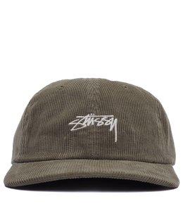 STUSSY CORDUROY LOW PRO CAP