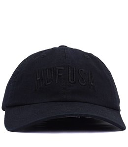 HUF TEAM CURVED VISOR 6-PANEL HAT
