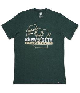 '47 BRAND BUCKS BREW CITY CLUB TEE