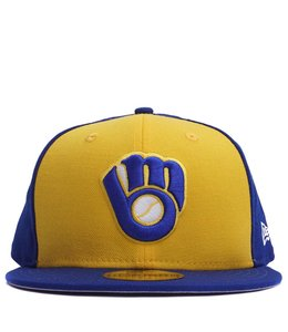 NEW ERA BREWERS 1978 COOPERSTOWN 59FIFTY FITTED HAT