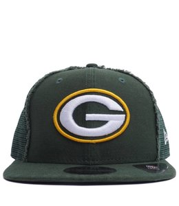 NEW ERA PACKERS WORN 9FIFTY TRUCKER HAT