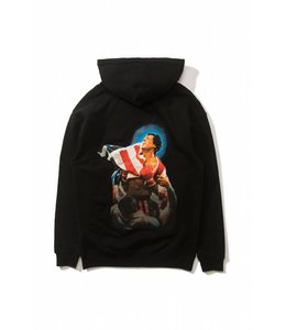THE HUNDREDS FLAG PULLOVER HOODIE