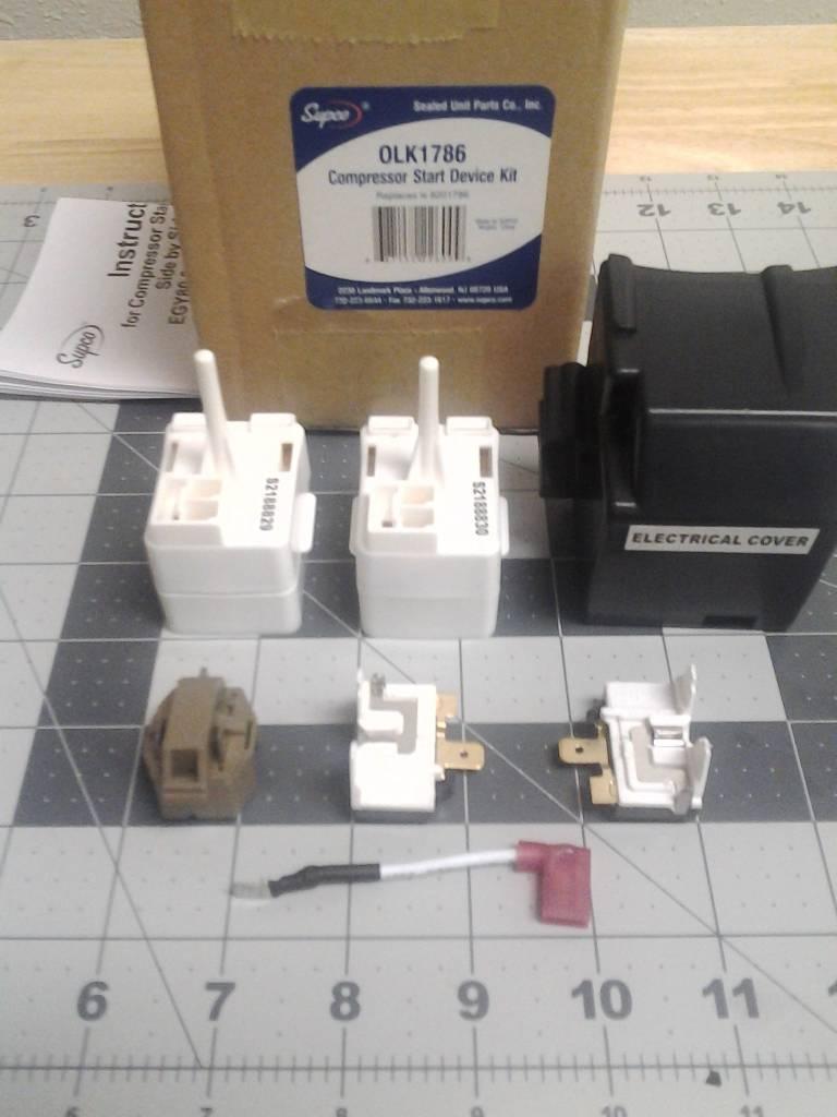 Compressor Start Device Kit 8201786 Part Advice Com
