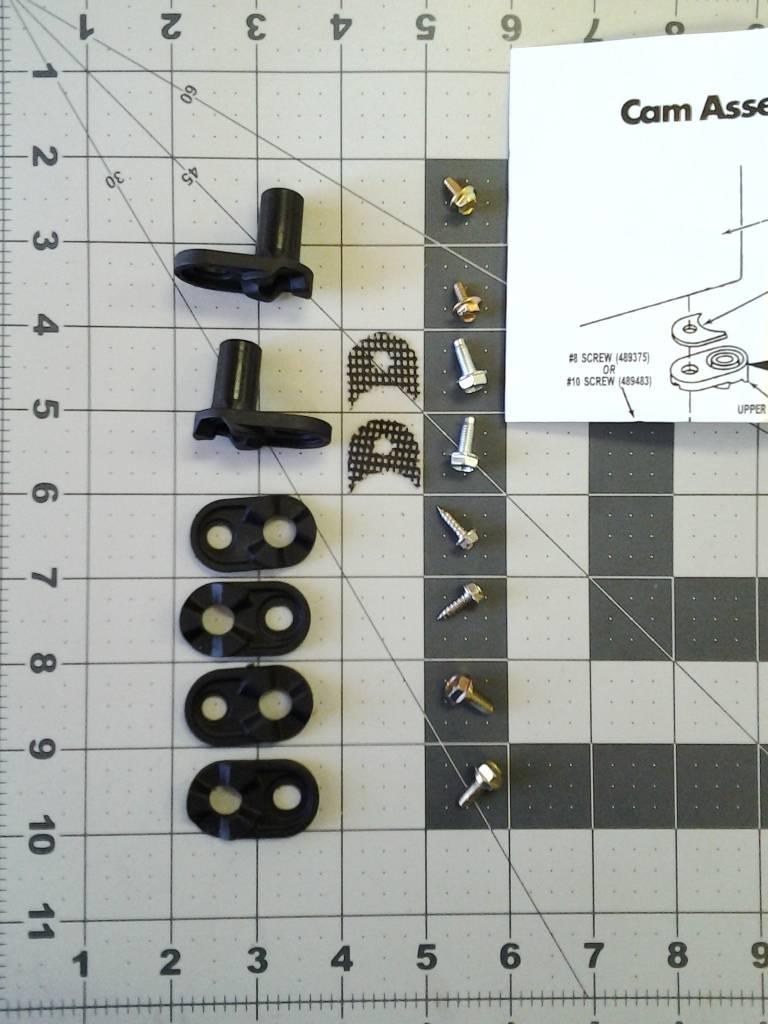 4318165 Refrigerator Door Closer Cam Kit Part Advice Com