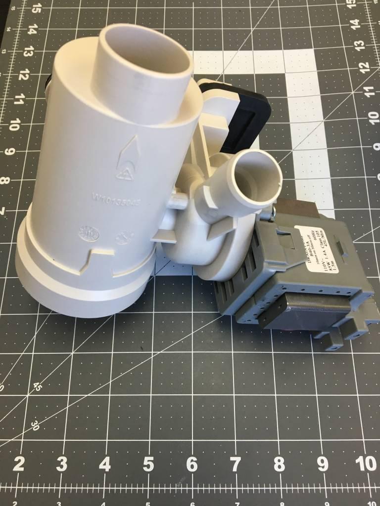 W10730972 Whirlpool Drain Pump Part Advice Com