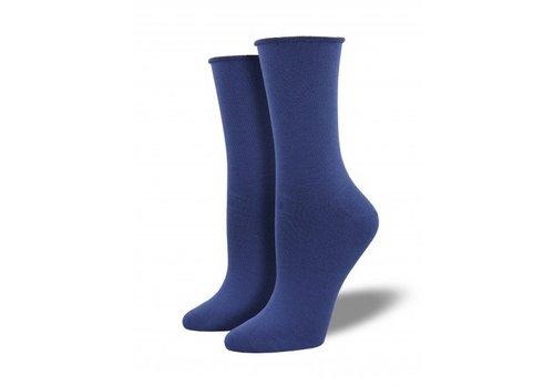 Socksmith Bamboo Solid - Marlin Blue