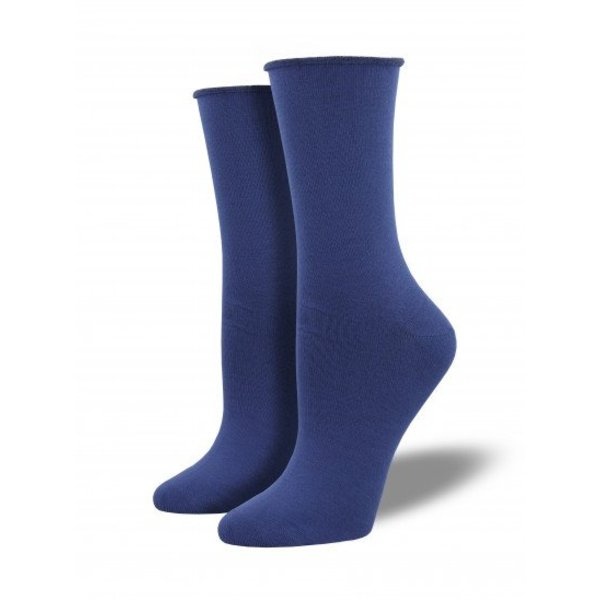 Socksmith Bamboo Solid - Marlin Blue