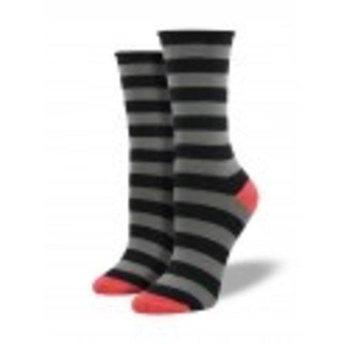 Polo Stripe-Black