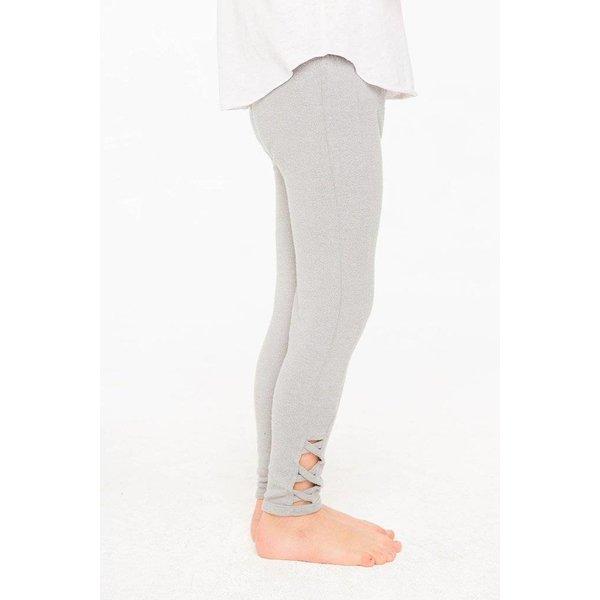 Chaser Kids Girls Love Knit Side Panel Leggings