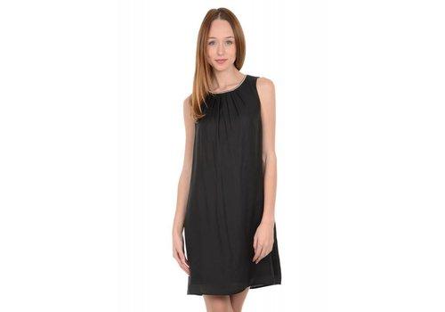 Molly Bracken Silk Black Dress
