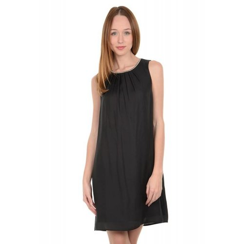 Molly Bracken Silk Black Dress