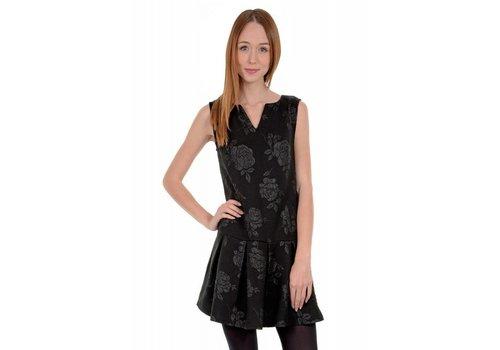 Molly Bracken Low Hem Black Dress