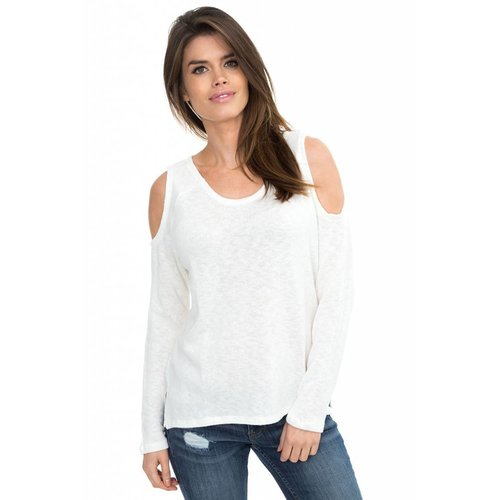 Cold Shoulder Raglan