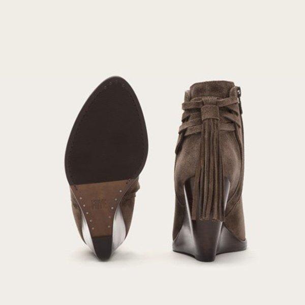 Frye Tassel Wedge Boot