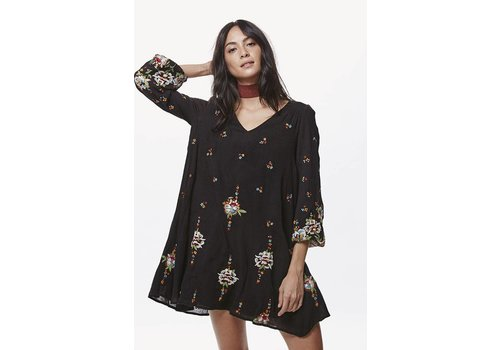 Free People Embroidered Mini