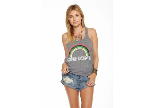 Chaser One Love Racer Tank