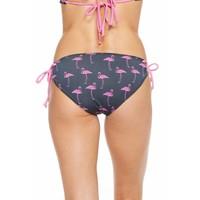 Chaser Pink Flamingo Bikini Bottoms