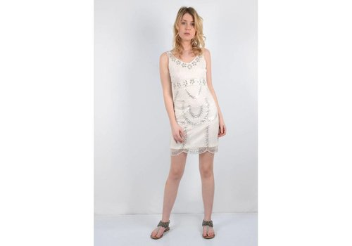 Molly Bracken Silver Sequin Dress