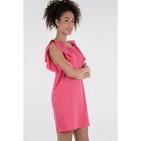 Molly Bracken Ruffle Shoulder Dress