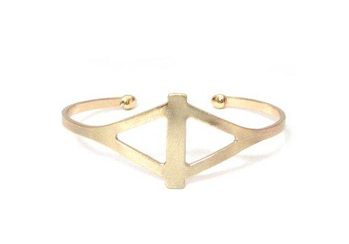 Marlyn Schiff Diamond Shape Cutout Cuff