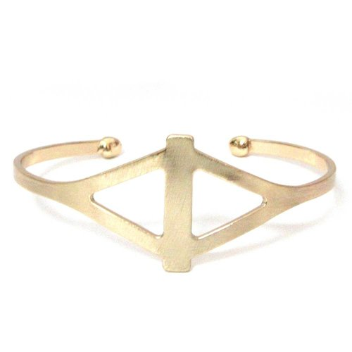 Marlyn Schiff Diamond Shape Cutout Cuff