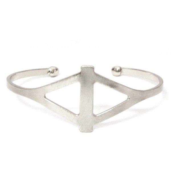 Diamond Shape Cutout Cuff