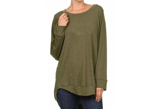 Freeloader French Terry Stitch Detailed Top