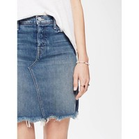 MOTHER Tomcat Mini Skirt