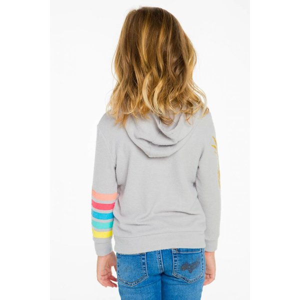 Chaser Kids Girls Pocket Hoodie