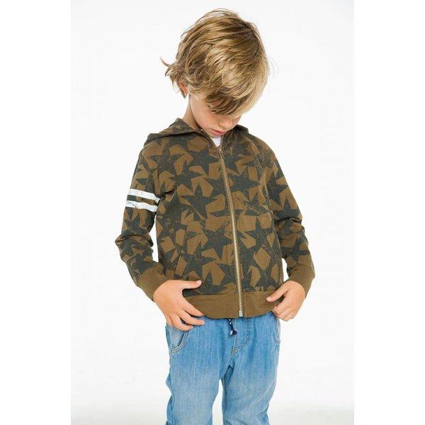 Chaser Kids Boys Cotton Zip Up Hoodie