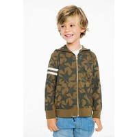 Chaser Kids Boys Cotton Zip Up Hoodie
