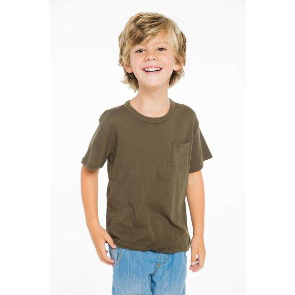 Chaser Kids Boys Pocket Tee