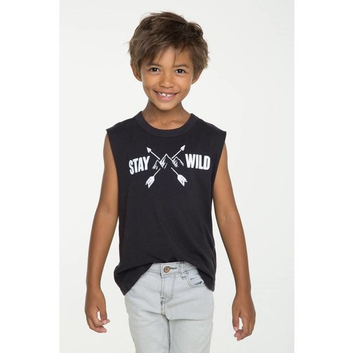 Chaser Kids Boys Cotton Muscle Tank