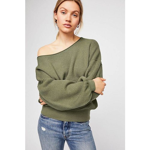 Free People Shadow Crew Sweater
