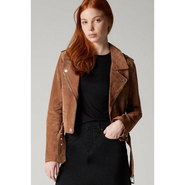 Blank NYC Suede Moto Jacket