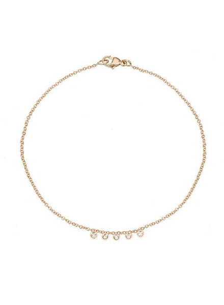 ariel gordon mini diamond dash bracelet