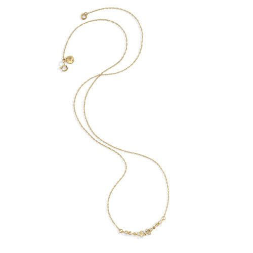 blanca monros gomez white diamond seed cluster necklace