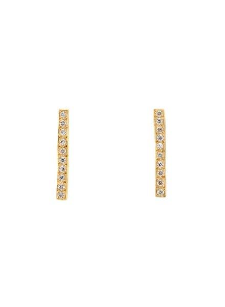 satomi kawakita jewelry long diamond pavè bar earrings