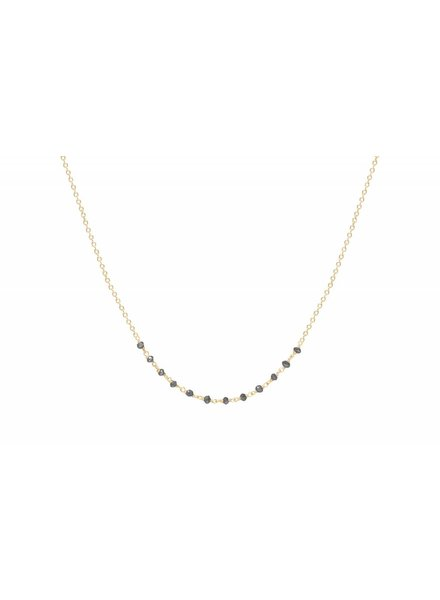 jennie kwon designs black diamond arc necklace