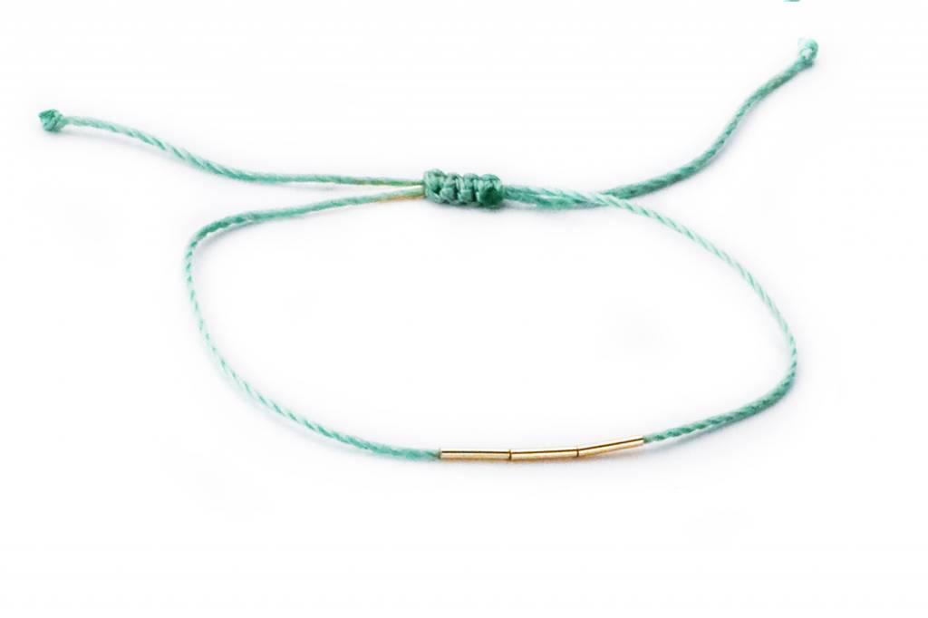 hortense cord bamboo bracelet