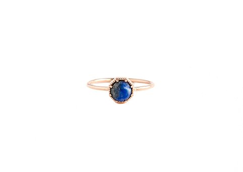 grace lee designs maman crown bezel ring
