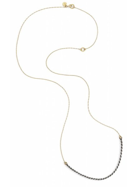blanca monros gomez two tone necklace