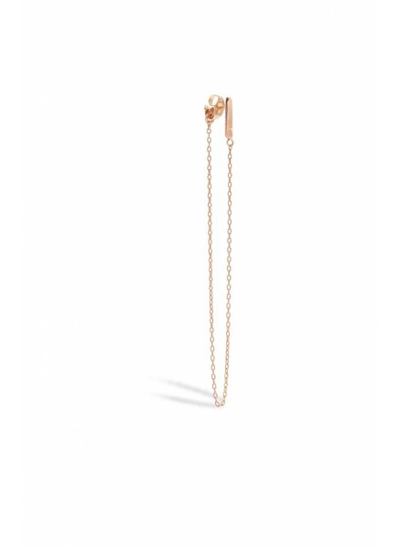 blanca monros gomez bar and chain earrings