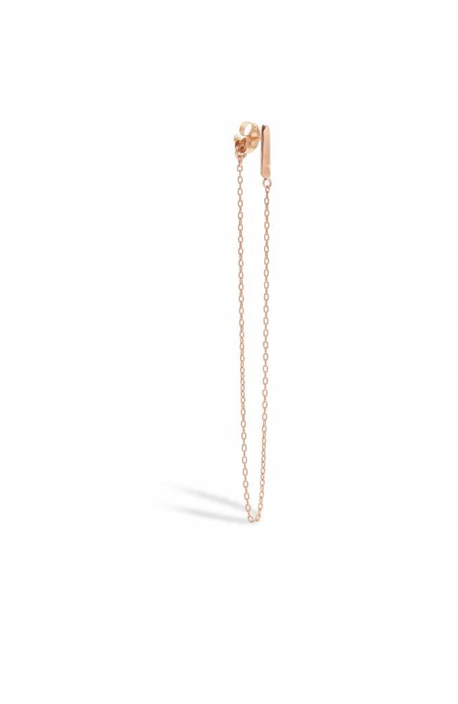 blanca monros gomez bar and chain earrings