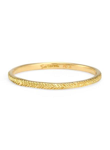 satomi kawakita jewelry small herringbone band