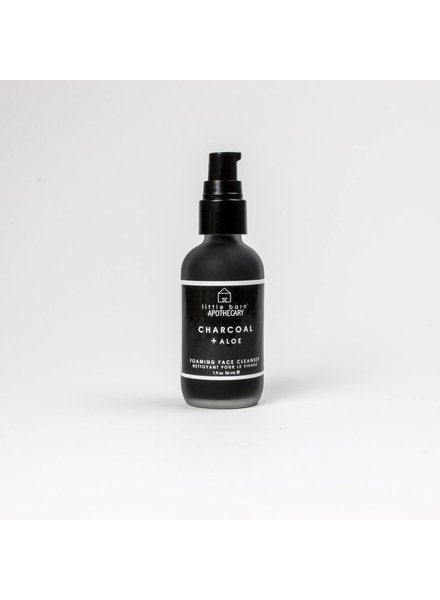 little barn apothecary cleanser charcoal + aloe